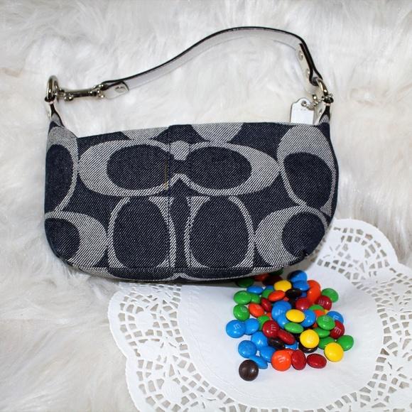 Coach Handbags - Coach Signature Demi jacquard bag